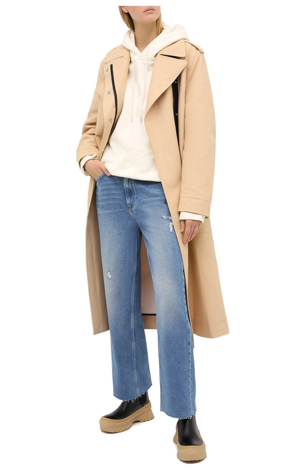 Женские джинсы RAG&BONE синего цвета, арт. WDD20P2665D6BR   Фото 2