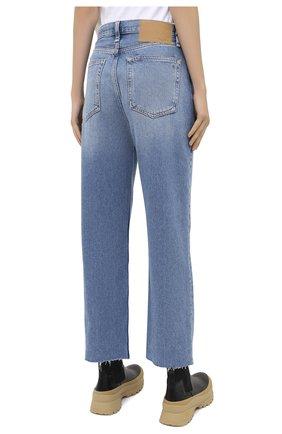 Женские джинсы RAG&BONE синего цвета, арт. WDD20P2665D6BR   Фото 4