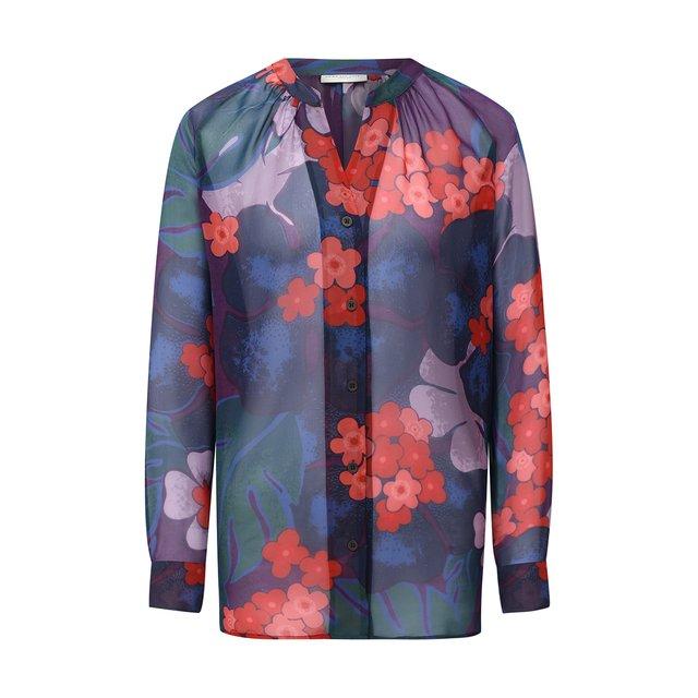 Шелковая блузка Dries Van Noten.