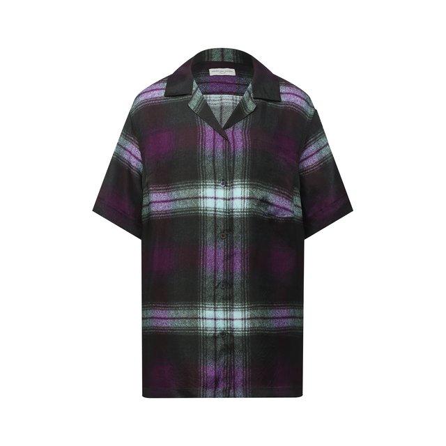 Рубашка из вискозы Dries Van Noten.