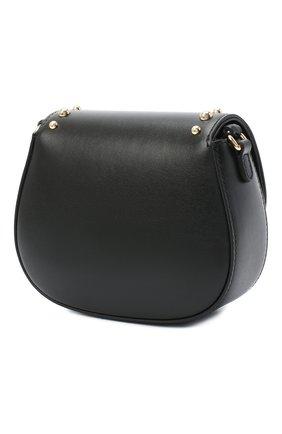 Детская кожаная сумка DOLCE & GABBANA черного цвета, арт. EB0212/AL592   Фото 2