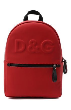 Детская рюкзак DOLCE & GABBANA красного цвета, арт. EM0079/AW088 | Фото 1