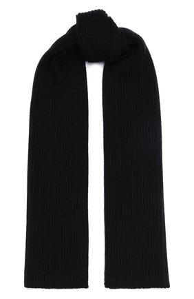Детский шерстяной шарф DOLCE & GABBANA черного цвета, арт. LBKA65/JAVYI | Фото 1 (Материал: Шерсть)