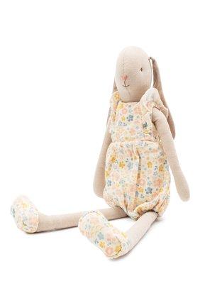 Детского игрушка заяц MAILEG бежевого цвета, арт. 16-0301-00   Фото 2