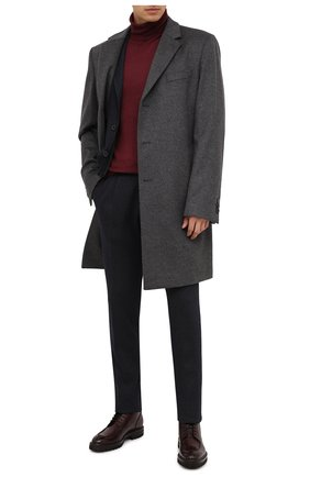 Мужские кожаные ботинки W.GIBBS бордового цвета, арт. 7260010/2197 | Фото 2