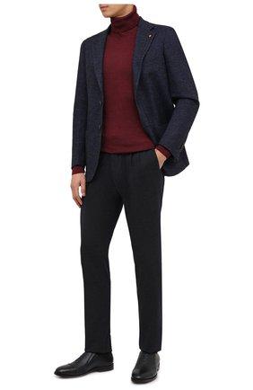 Мужские кожаные лоферы ALDO BRUE темно-синего цвета, арт. AB4039.CM.P.BU | Фото 2