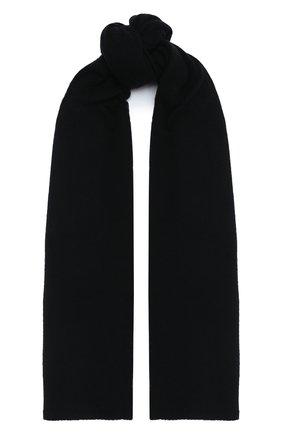 Мужской шерстяной шарф TRANSIT черного цвета, арт. SCAUTRM12476 | Фото 1