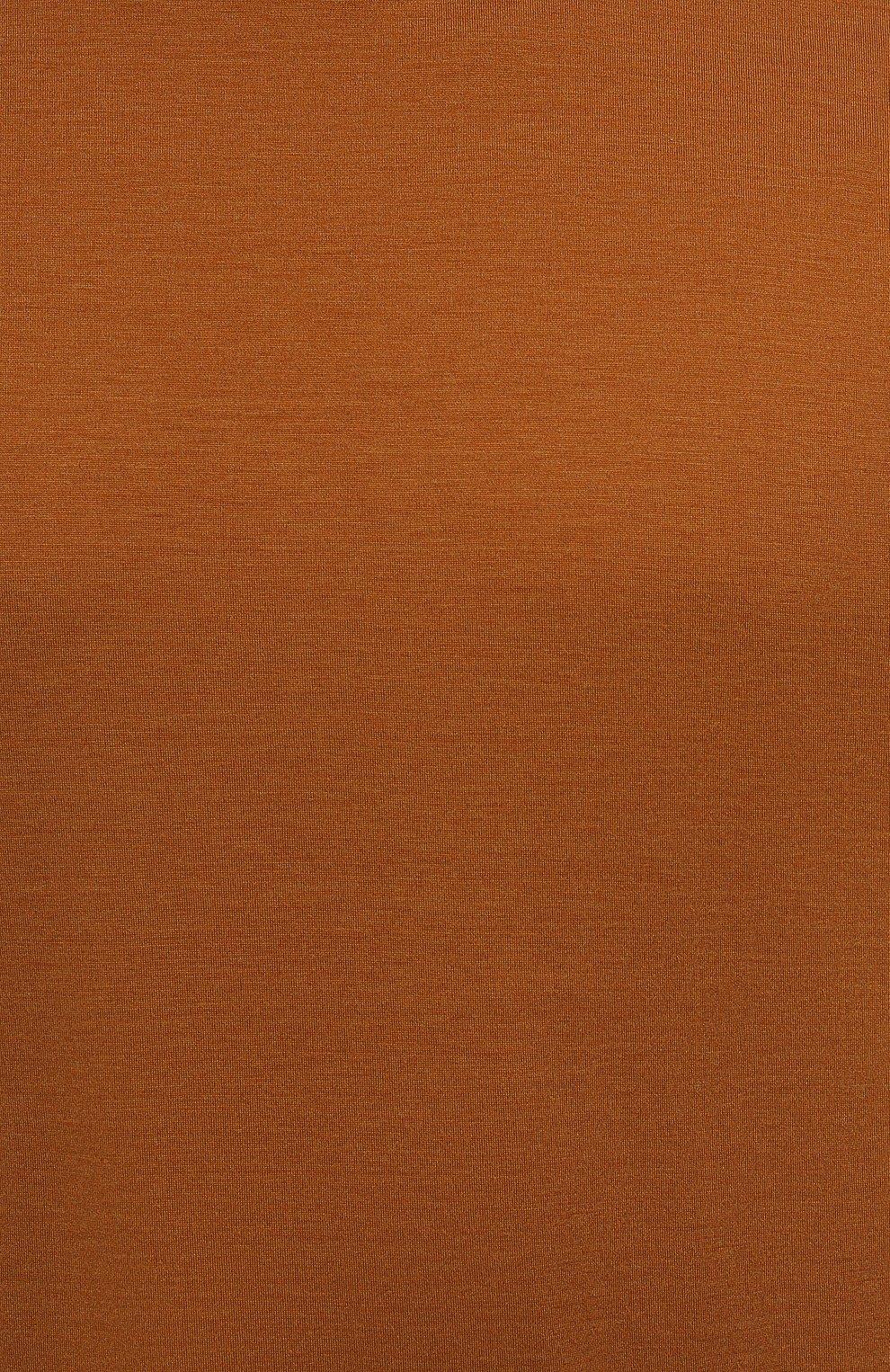 Мужская футболка из шелка и хлопка LORO PIANA светло-коричневого цвета, арт. FAF6128 | Фото 5