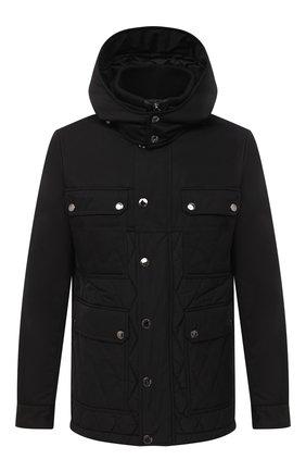 Мужская утепленная куртка DOLCE & GABBANA черного цвета, арт. G9S04T/FU6WW | Фото 1
