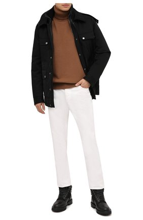 Мужская утепленная куртка DOLCE & GABBANA черного цвета, арт. G9S04T/FU6WW | Фото 2