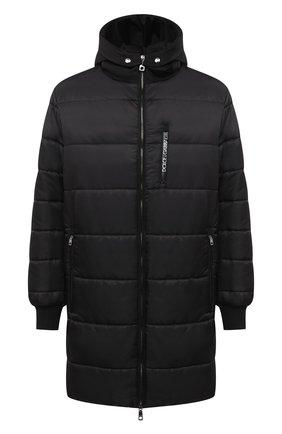Мужская утепленное пальто DOLCE & GABBANA черного цвета, арт. G9S02T/HUMBF | Фото 1