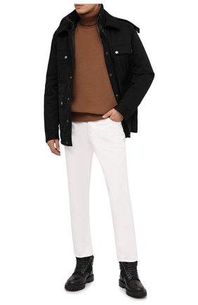 Мужские кожаные ботинки JIMMY CHOO черного цвета, арт. 0DIN/SVS | Фото 2