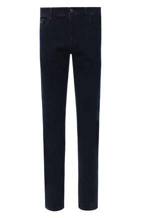 Мужские джинсы ZILLI темно-синего цвета, арт. MCU-00041-DEBB1/S001 | Фото 1