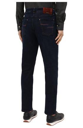 Мужские джинсы ZILLI темно-синего цвета, арт. MCU-00041-DEBB1/S001 | Фото 5