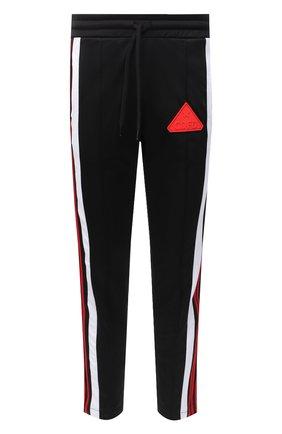 Мужской хлопковые брюки COMME DES FUCKDOWN черного цвета, арт. CDFU984 | Фото 1
