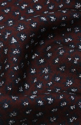 Мужской платок из шерсти и шелка VAN LAACK бордового цвета, арт. LE0N/Z10325   Фото 2