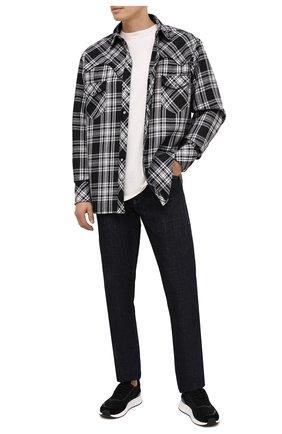Мужские комбинированные кроссовки Z ZEGNA черного цвета, арт. A4721X-LHWSD | Фото 2