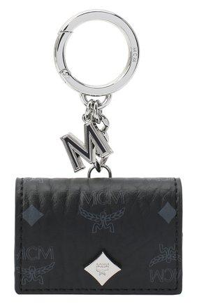 Мужской чехол для airpods pro MCM черного цвета, арт. MXZ AAVI30 | Фото 1