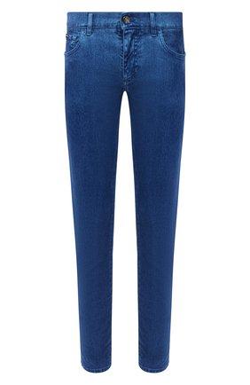 Мужские джинсы DOLCE & GABBANA голубого цвета, арт. GYD2LT/G8CV3 | Фото 1