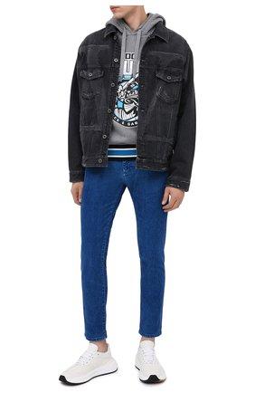 Мужские джинсы DOLCE & GABBANA голубого цвета, арт. GYD2LT/G8CV3 | Фото 2