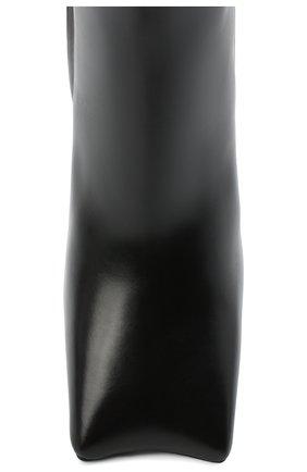 Женские кожаные ботильоны moon BALENCIAGA черного цвета, арт. 615745/WB980 | Фото 5