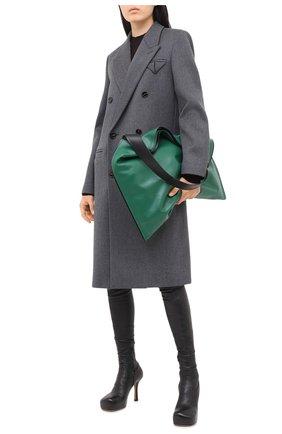 Женские кожаные ботфорты bv bold BOTTEGA VENETA черного цвета, арт. 630168/VBP40 | Фото 2