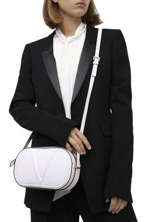 Женская сумка valentino garavani vlogo walk VALENTINO белого цвета, арт. UW2B0G32/QEL | Фото 2