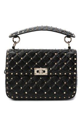Женская сумка valentino garavani rockstud spike VALENTINO черного цвета, арт. UW2B0E87/ACV | Фото 1