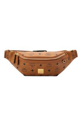 Женская поясная сумка fursten MCM коричневого цвета, арт. MMZ AAFI04   Фото 1