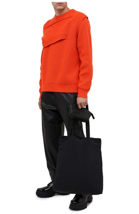 Мужская комплект из сумки и футляра BOTTEGA VENETA черного цвета, арт. 629237/VCQG2 | Фото 2