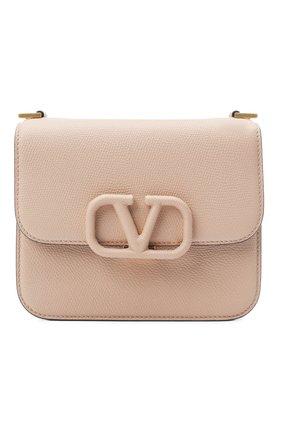 Женская сумка valentino garavani vsling VALENTINO бежевого цвета, арт. UW2B0F01/RQR | Фото 1