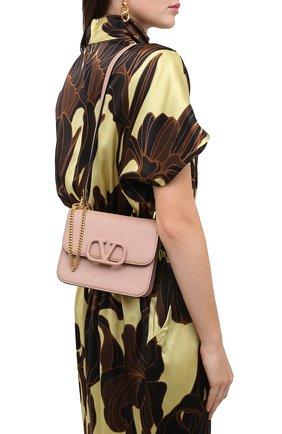 Женская сумка valentino garavani vsling VALENTINO бежевого цвета, арт. UW2B0F01/RQR | Фото 2