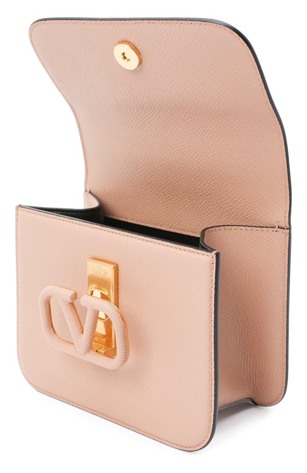 Женская сумка valentino garavani vsling VALENTINO бежевого цвета, арт. UW2B0F01/RQR   Фото 4