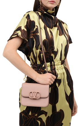 Женская сумка valentino garavani vsling VALENTINO бежевого цвета, арт. UW2B0F01/RQR   Фото 5