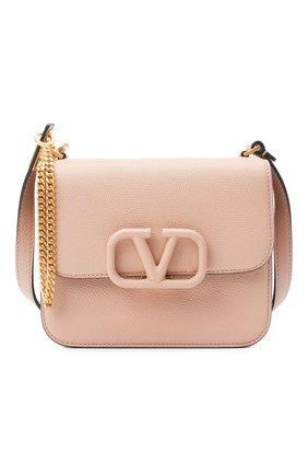 Женская сумка valentino garavani vsling VALENTINO бежевого цвета, арт. UW2B0F01/RQR   Фото 6