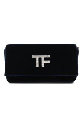 Женский сумка evening TOM FORD синего цвета, арт. L1369P-TVE001 | Фото 1