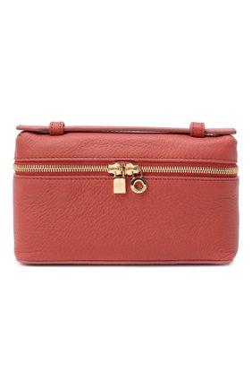 Женская поясная сумка extra pocket l16 LORO PIANA кораллового цвета, арт. FAI8396 | Фото 1