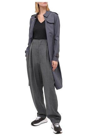 Женский пуловер BRUNELLO CUCINELLI темно-серого цвета, арт. M41822902 | Фото 2