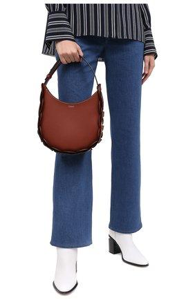 Женская сумка darryl CHLOÉ коричневого цвета, арт. CHC20US342C61   Фото 2
