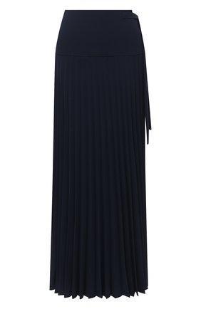 Женская юбка в складку CHLOÉ темно-синего цвета, арт. CHC20AJU47137   Фото 1