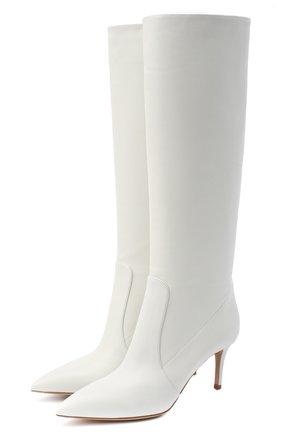 Женские кожаные сапоги hansen GIANVITO ROSSI белого цвета, арт. G80458.70RIC.VGIBIAN | Фото 1