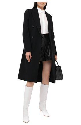 Женские кожаные сапоги hansen GIANVITO ROSSI белого цвета, арт. G80458.70RIC.VGIBIAN | Фото 2
