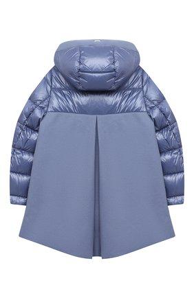 Детского пуховая куртка HERNO голубого цвета, арт. PI0103G/39601/4A-8A   Фото 2