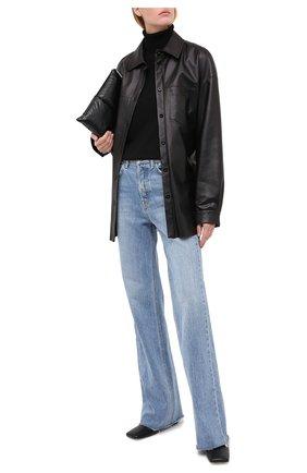 Женская шерстяная водолазка WINDSOR черного цвета, арт. 52 DP484 10005439   Фото 2