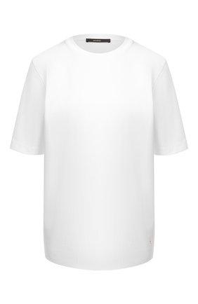 Женская хлопковая футболка WINDSOR белого цвета, арт. 52 DT420 10010511 | Фото 1