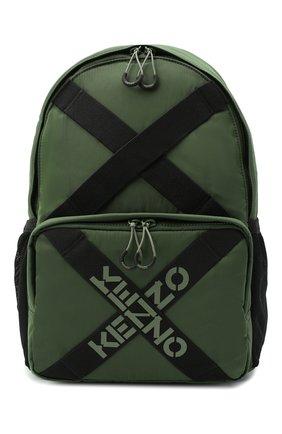 Женский рюкзак active kenzo sport KENZO хаки цвета, арт. FA65SA213F21 | Фото 1