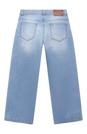 Детские джинсы DOLCE & GABBANA голубого цвета, арт. L51F67/LD786/8-14 | Фото 2