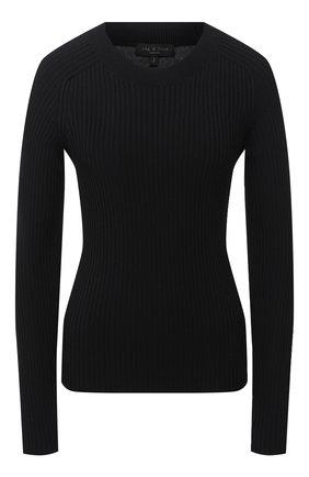 Женский пуловер RAG&BONE черного цвета, арт. WAS20PS007KZ07 | Фото 1