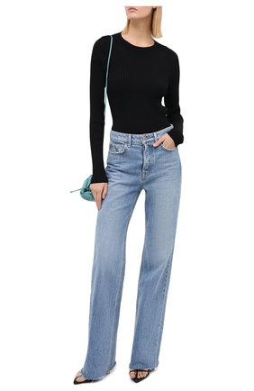 Женский пуловер RAG&BONE черного цвета, арт. WAS20PS007KZ07 | Фото 2