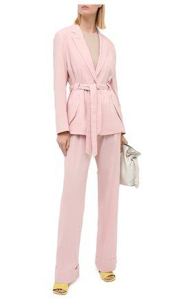 Женский жакет из льна и вискозы RAG&BONE светло-розового цвета, арт. WAW20P4009NH09 | Фото 2